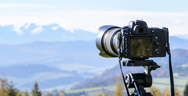 Dslr Taking Shot of the Horizon - Video Production Company